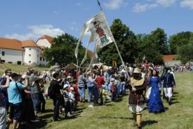 ROTENSTEIN – Knight Tournament on Horseback at Červený Kameň Castle, Častá